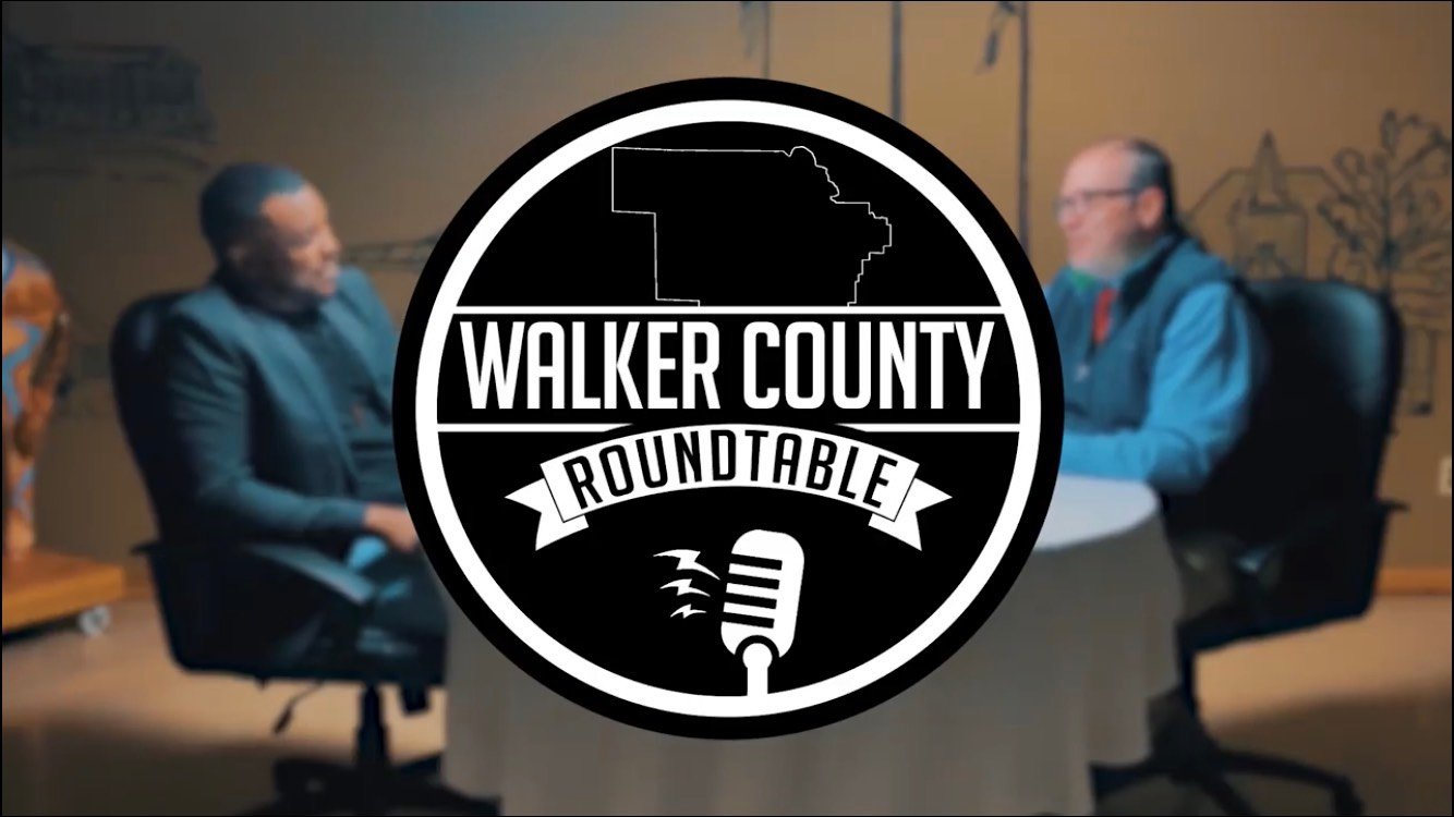 "Daily Mountain Eagle Publisher James Phillips served as the first guest on ""Walker County Roundtable,"" a new Facebook series hosted by Oakman Mayor Cory Franks."