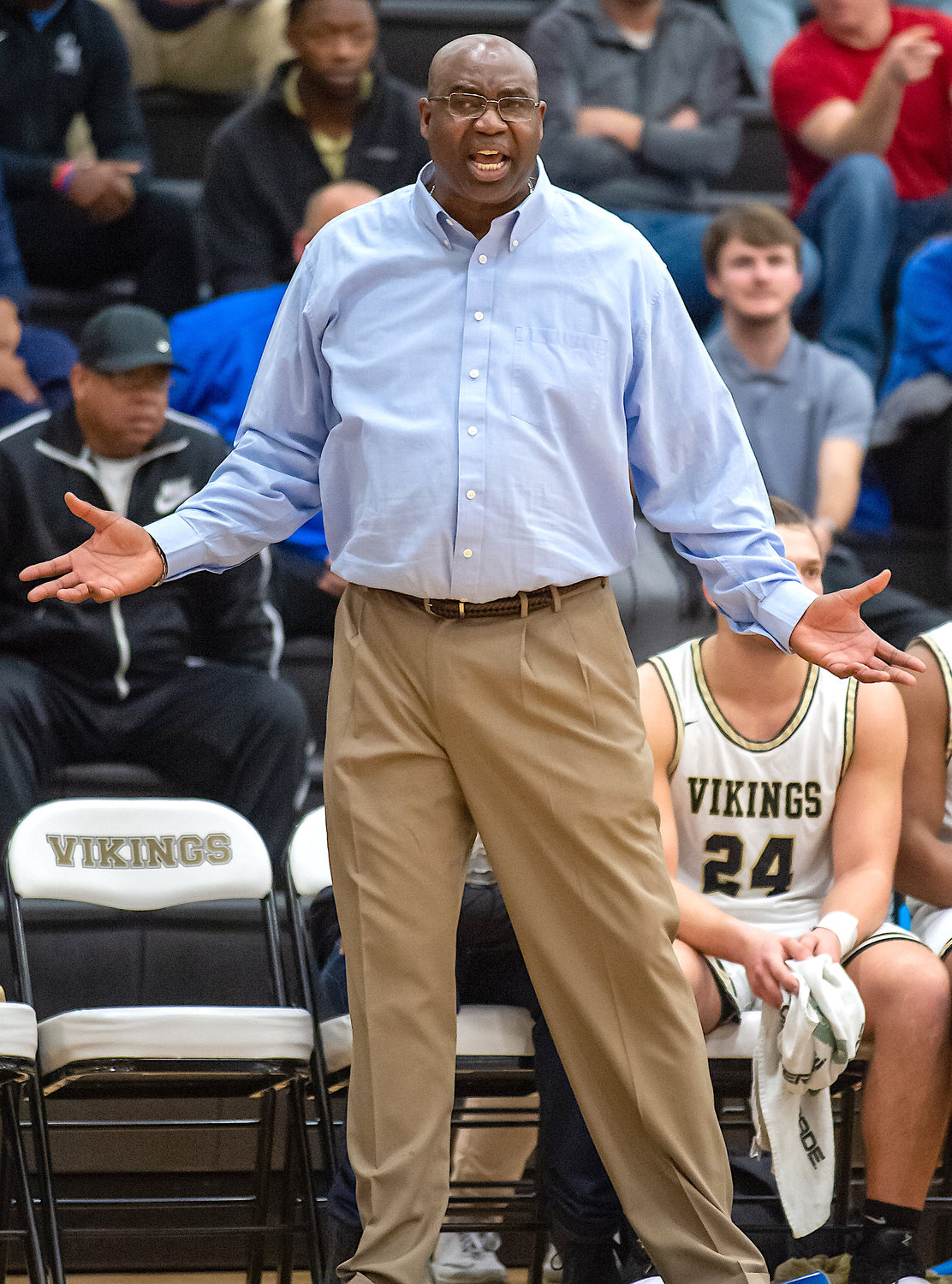 Jasper head coach Robert Epps has the Vikings in the Northwest Regional Tournament for the first time since 2008.