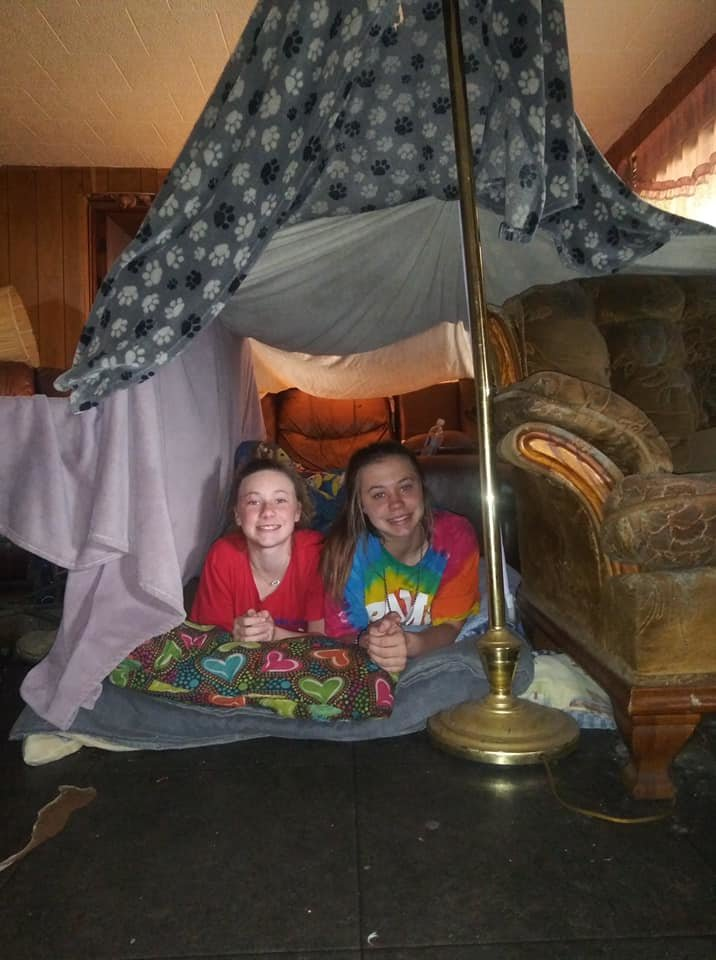 Bankhead Middle students built indoor forts on Wednesday as part of the Coronavirus Quarantine Challenge issued by teacher Amber Parsons.