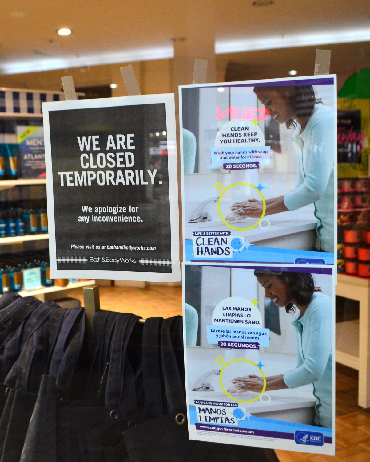 Bath & Body Works is one retailer in the Jasper Mall that will be closed until further notice.