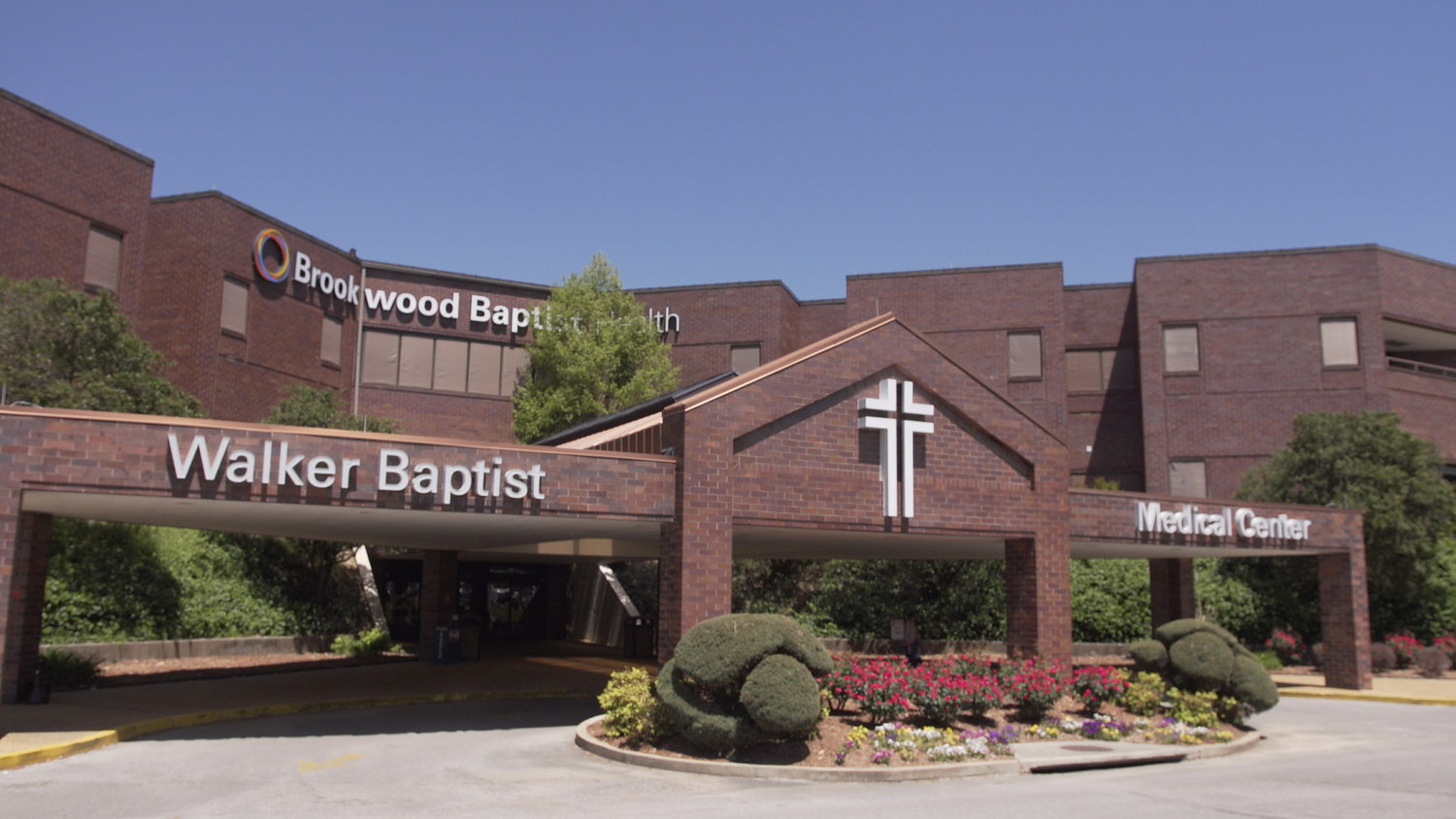 Brookwood Baptist Health System said Tuesday it is treating four positive COVID-19 patients across its system