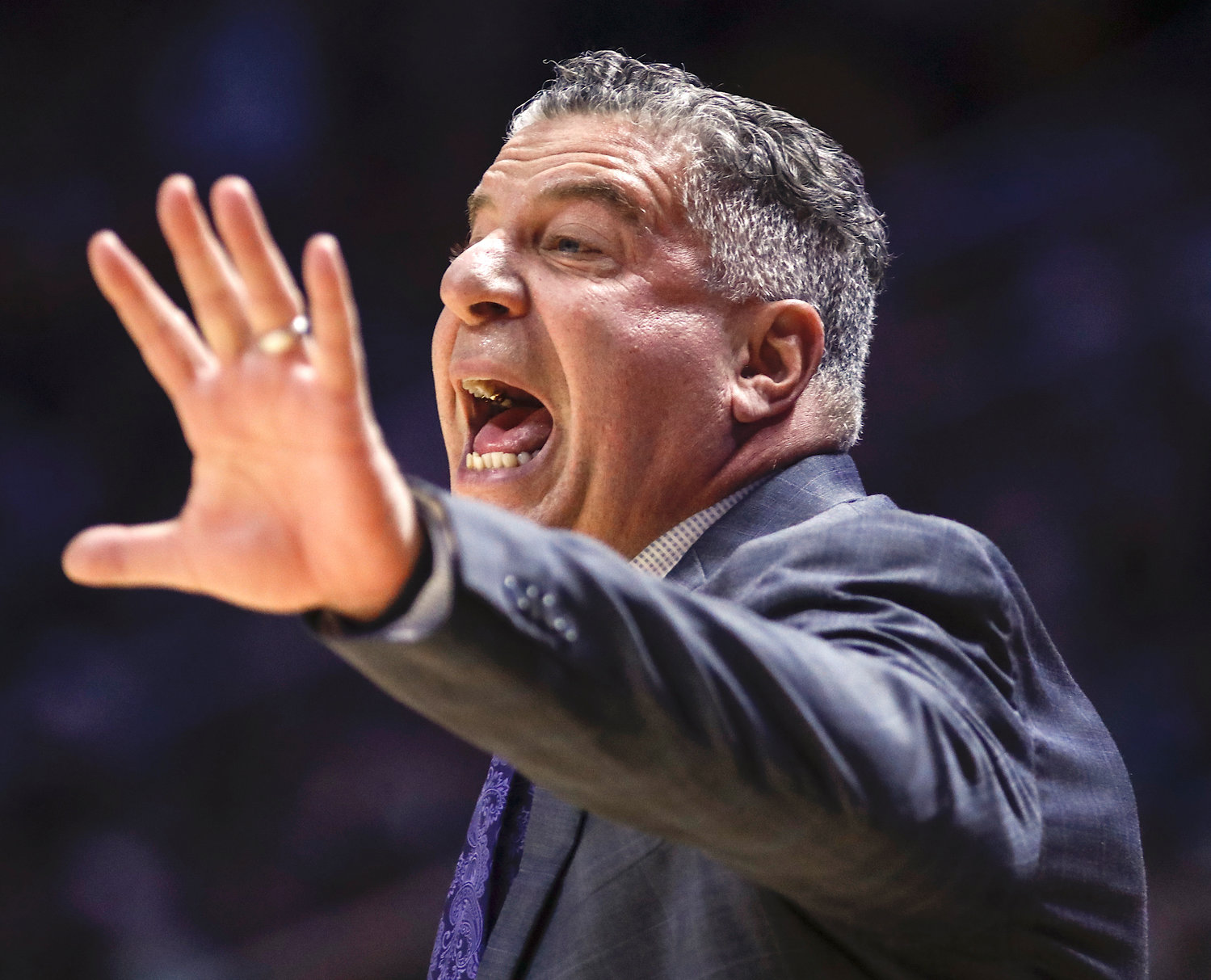 Auburn head coach Bruce Pearl is 81-24 over the last three years with the Tigers.