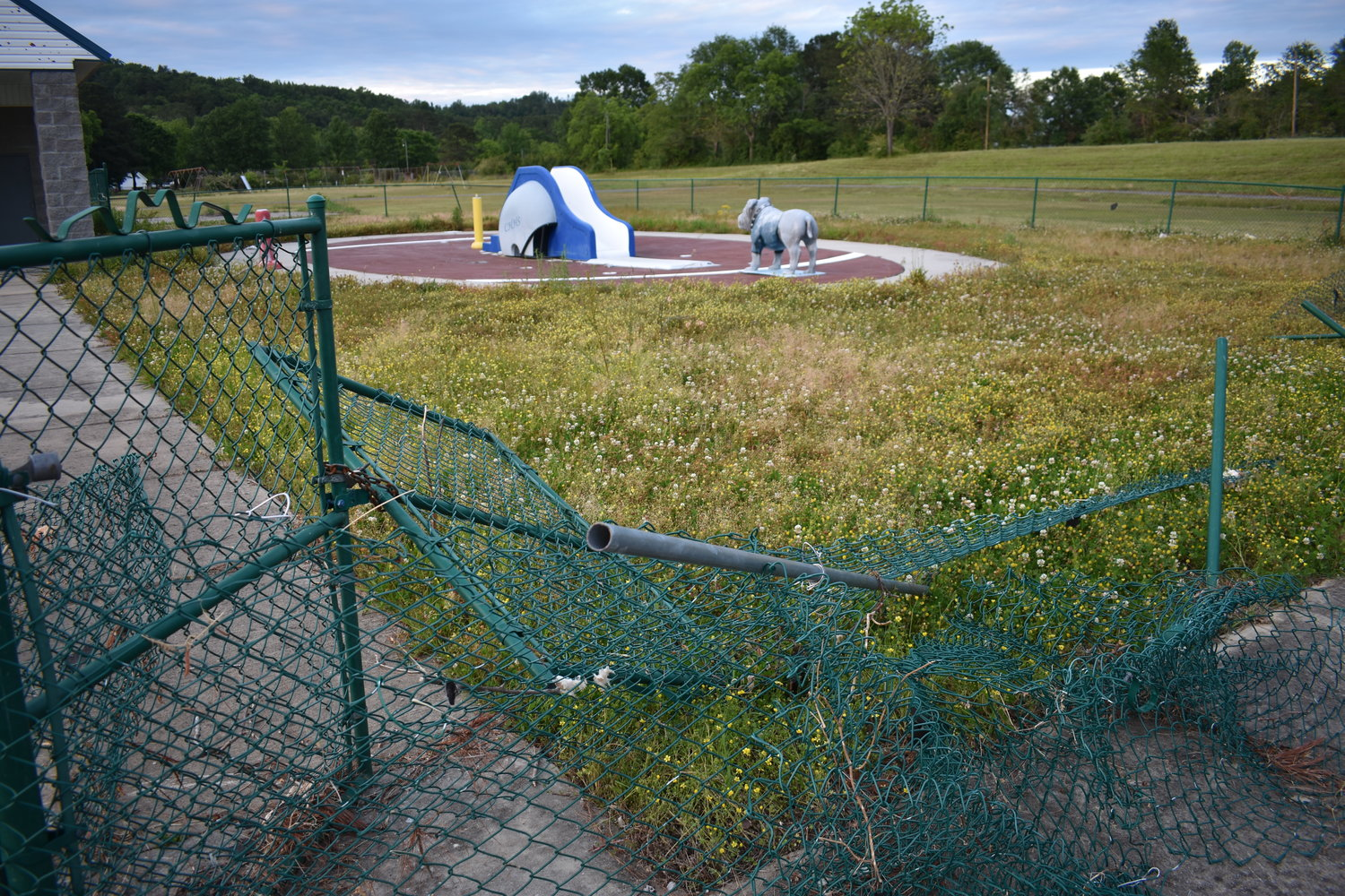 The Carbon Hill City Council indicated Monday that the splash pad was too damaged from the April 12 Easter tornado to be used this summer.