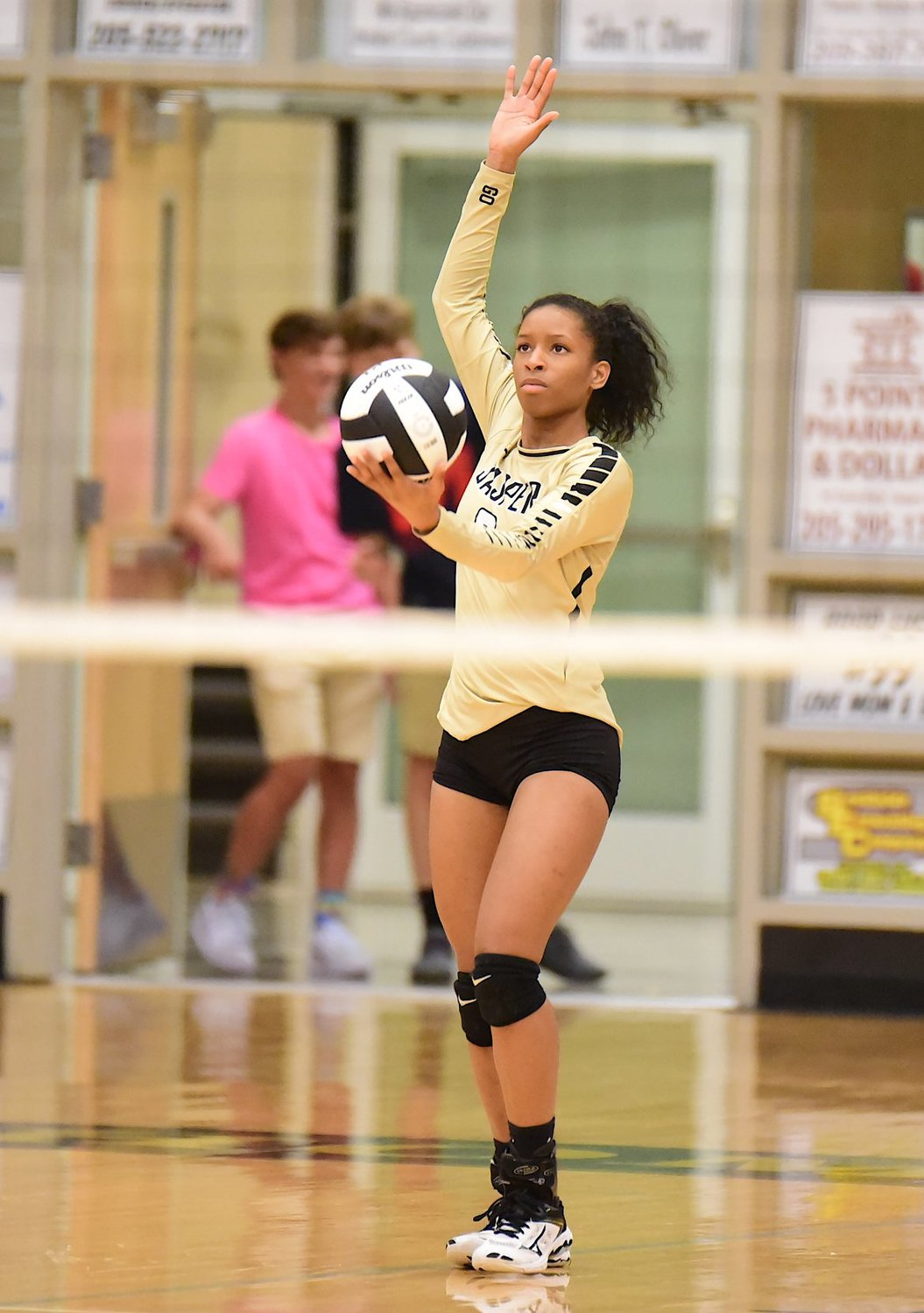 Kelsey Shelton was part of the back-to-back Class 5A state championship volleyball team at Jasper High School.