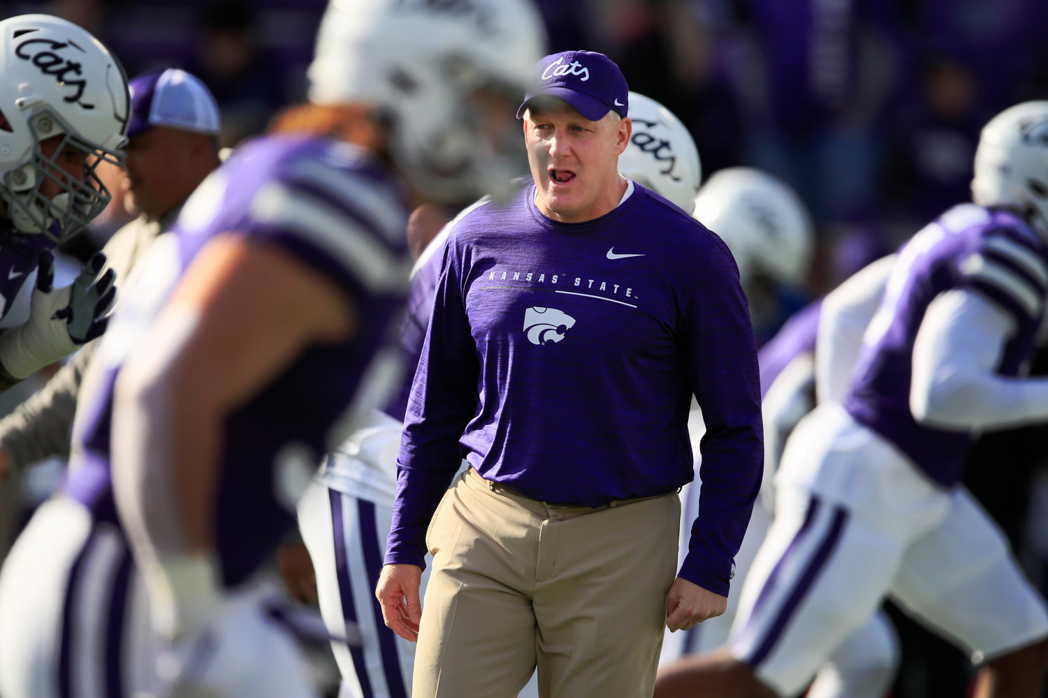 Kansas State football players plan boycott over student's George Floyd tweet