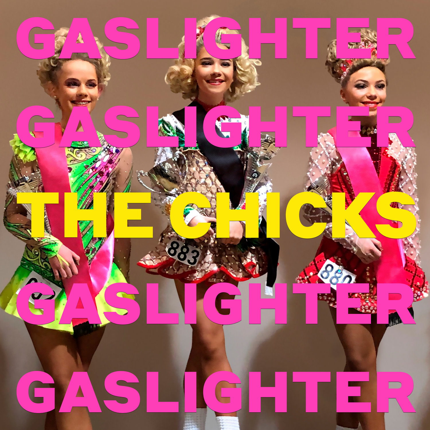 "This cover image released by Columbia Records shows ""Gaslighter"" by The Chicks. (Columbia via AP)"