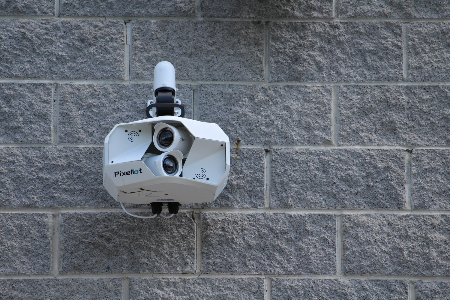 The Pixellot automated solutions camera, pictured here at Horace-Roberts Field in Dora, has been installed at most of the Walker County schools in the past week. The cameras will be used to broadcast live sporting events to the NFHS Network.