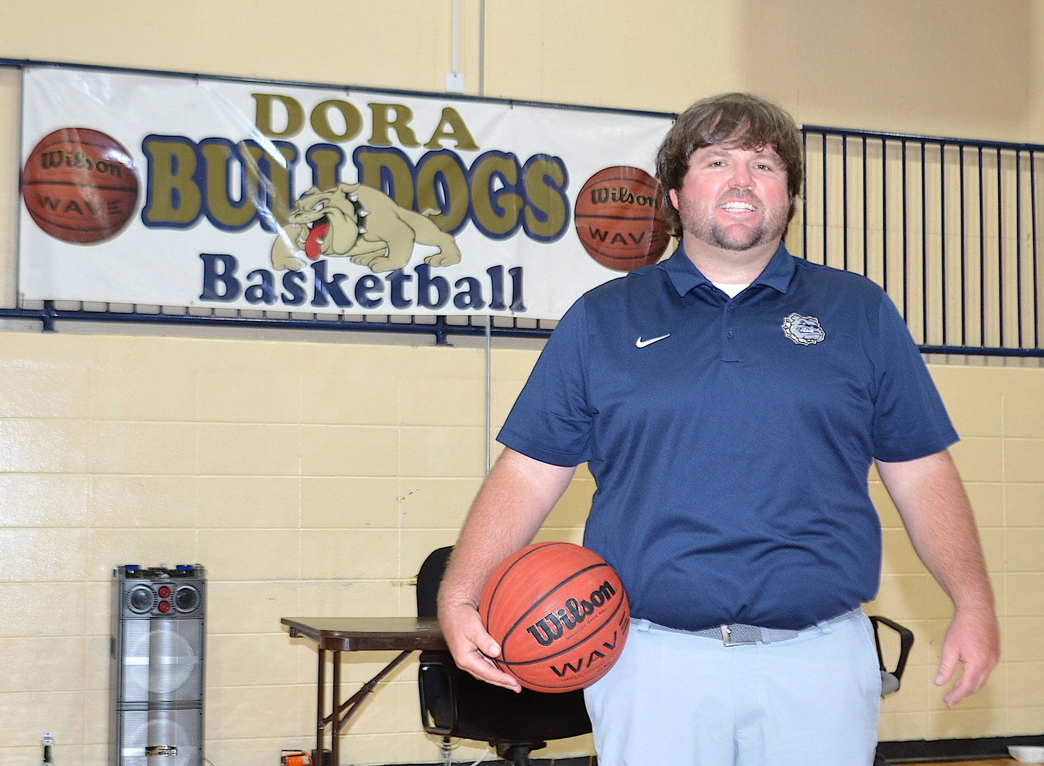 Justin Blevins is the new Dora girls basketball head coach. He spent the last three years as the school's head baseball coach. He replaces Michael Bridges, who is remaining at the school as the boys head coach.