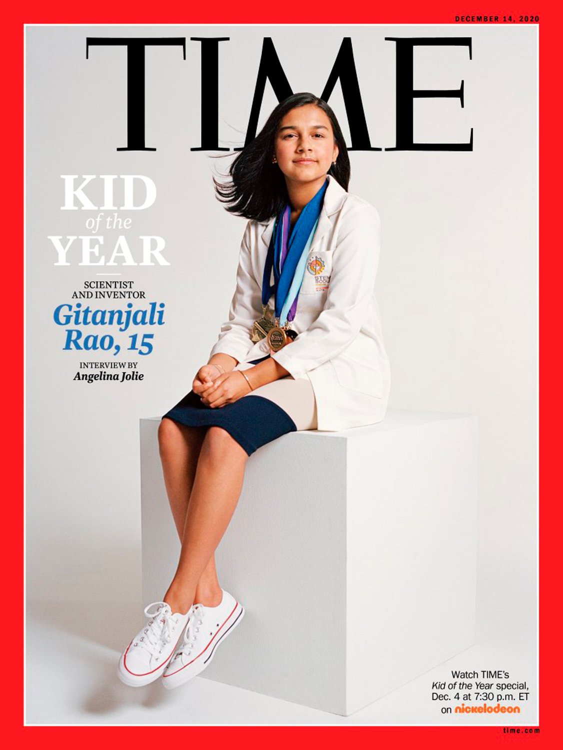 Colorado student, scientist named Time's 'Kid of the Year' - Daily Mountain Eagle