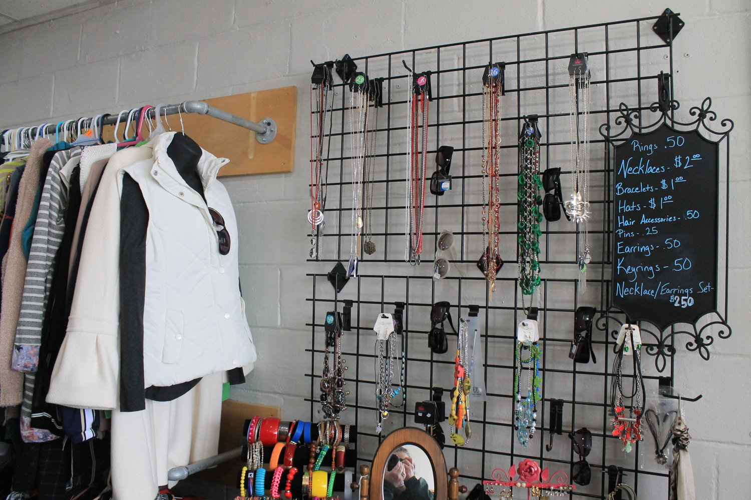 Proceeds from the City of Lights thrift store support the Dream Center, which operates an inpatient substance abuse recovery program for women out of the former home of T.S. Boyd school in Dora.