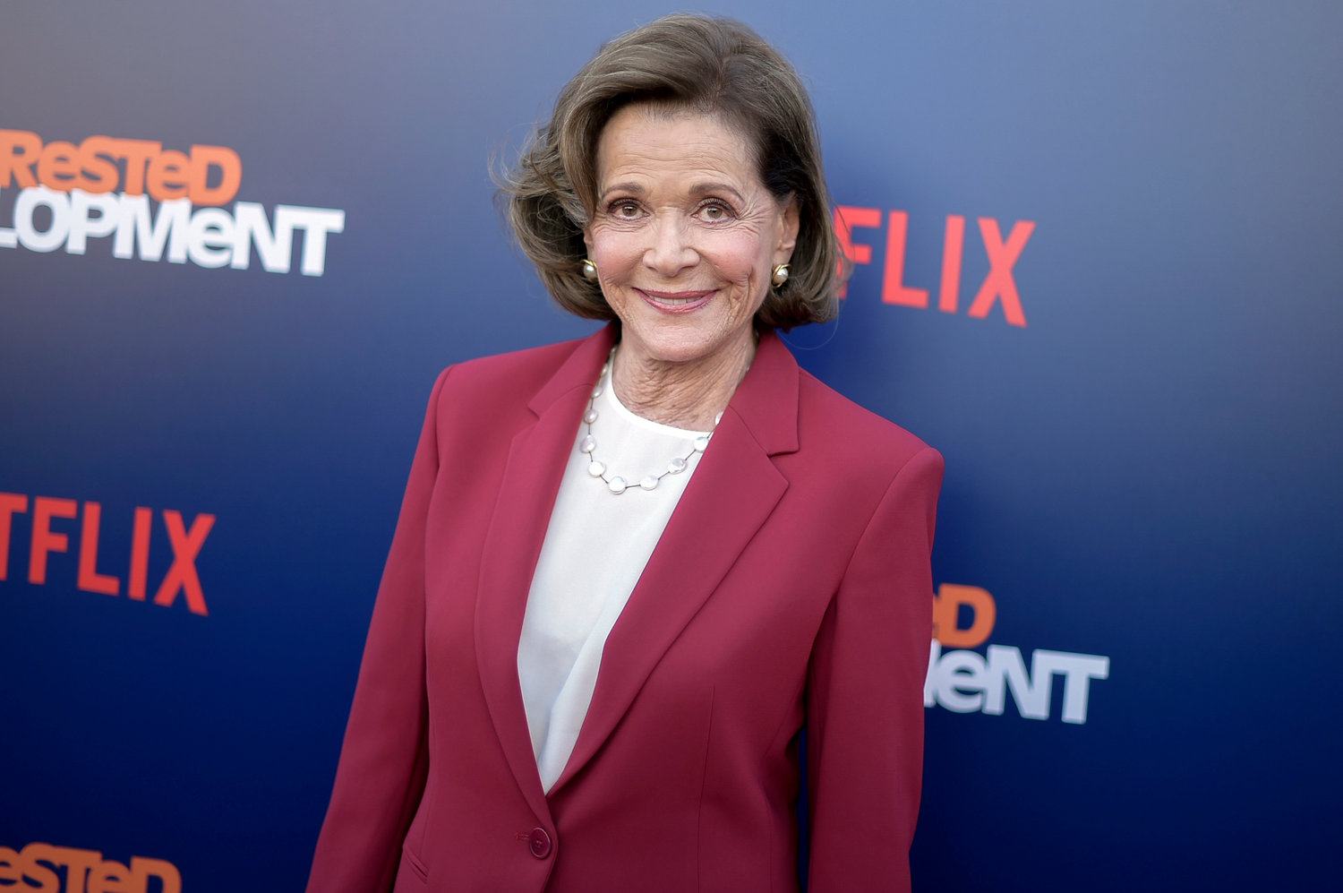 "Jessica Walter attends the LA Premiere of ""Arrested Development"" Season Five at Raleigh Studios Hollywood on Thursday, May 17, 2018, in Los Angeles. (Photo by Richard Shotwell/Invision/AP)"