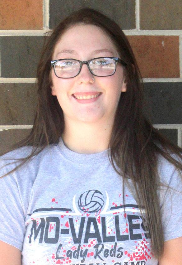 Carlie Winchester (sr.) MV Lady Reds volleyball