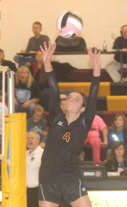 Sam Halbur is the Rams All-Time career leader in assists on the volleyball court as she recorded 3,264 assists in her career.