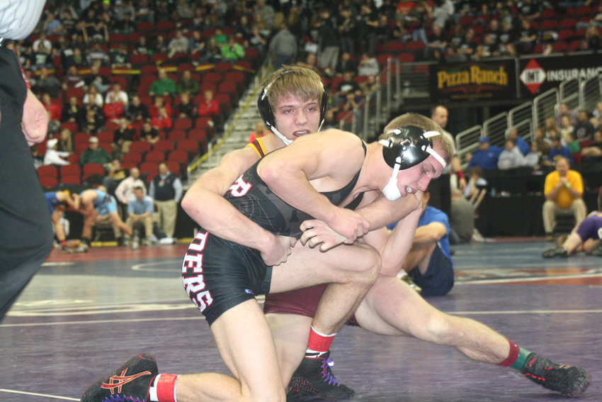 Derik Bailey was a three-time state qualifier in wrestling and placed seventh as a senior. He finished his high school career with 147 wins.