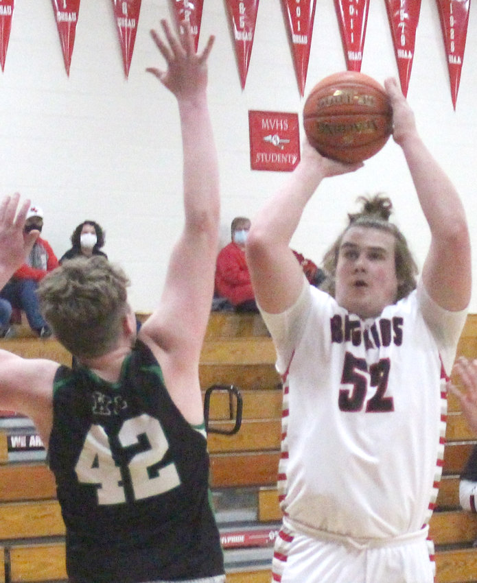 Missouri Valley's Connor Murray has been a solid contributor for the Big Reds this season.