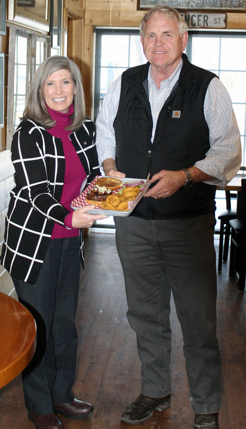 Senator Joni Ernst and Ed Spencer, owner of the Twisted Tail Steakhouse and Saloon, discussed the impacts of COVID-19 over the 2020 Best Burger in Iowa.