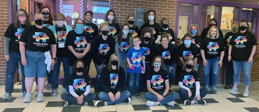 The Boyer Valley Elementary staff celebrated World Autism Awareness Day and Para Professionals Day.