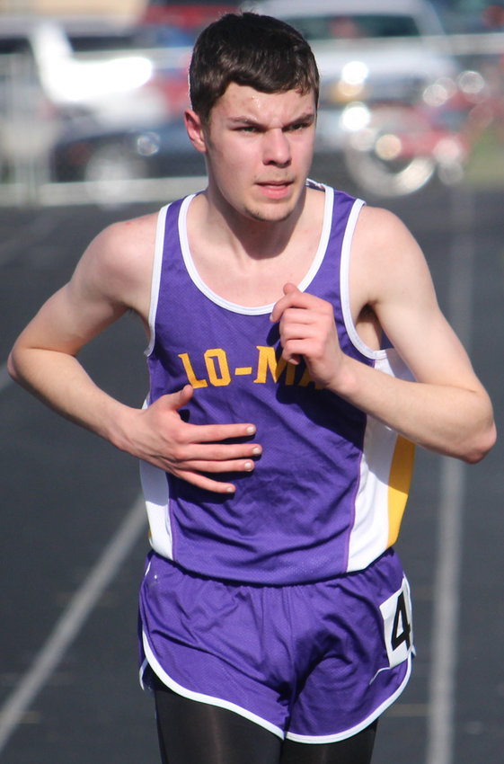 Logan-Magnolia's Noah Bock has been a consistent top finisher for the Panthers in the distance events this season.