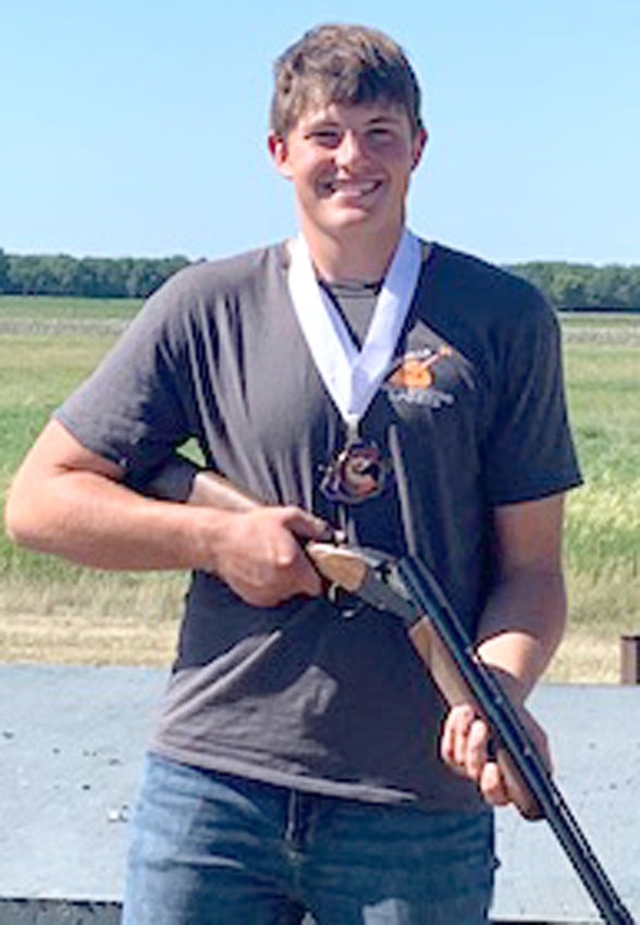 2021 Loess Hills Youth Shooting Sports, State Meet: Grant Brix, fifth place, junior varsity men's division.