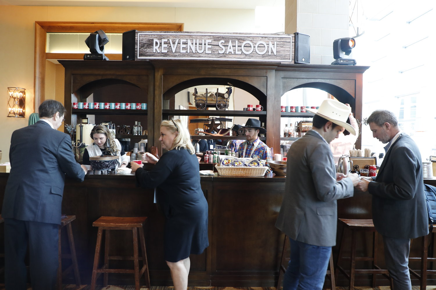 OwnLocal's Revenue Saloon at the 2020 Mega-Conference. (Photo by Bob Booth)