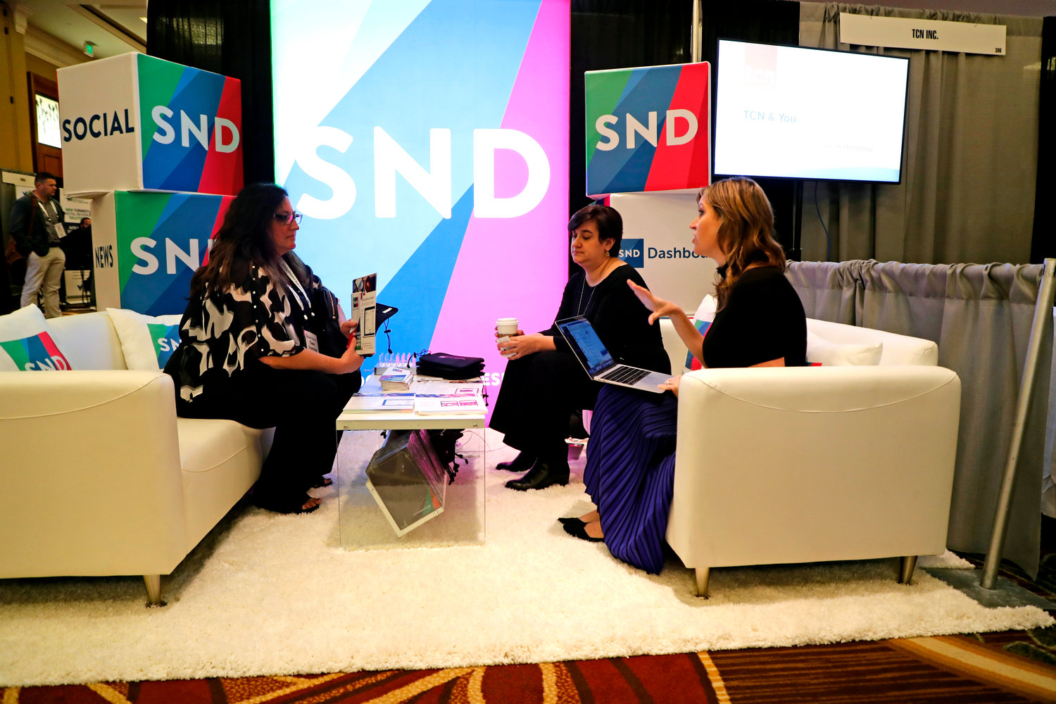 Social News Desk at the 2020 Mega-Conference. (Photo by Bob Booth).