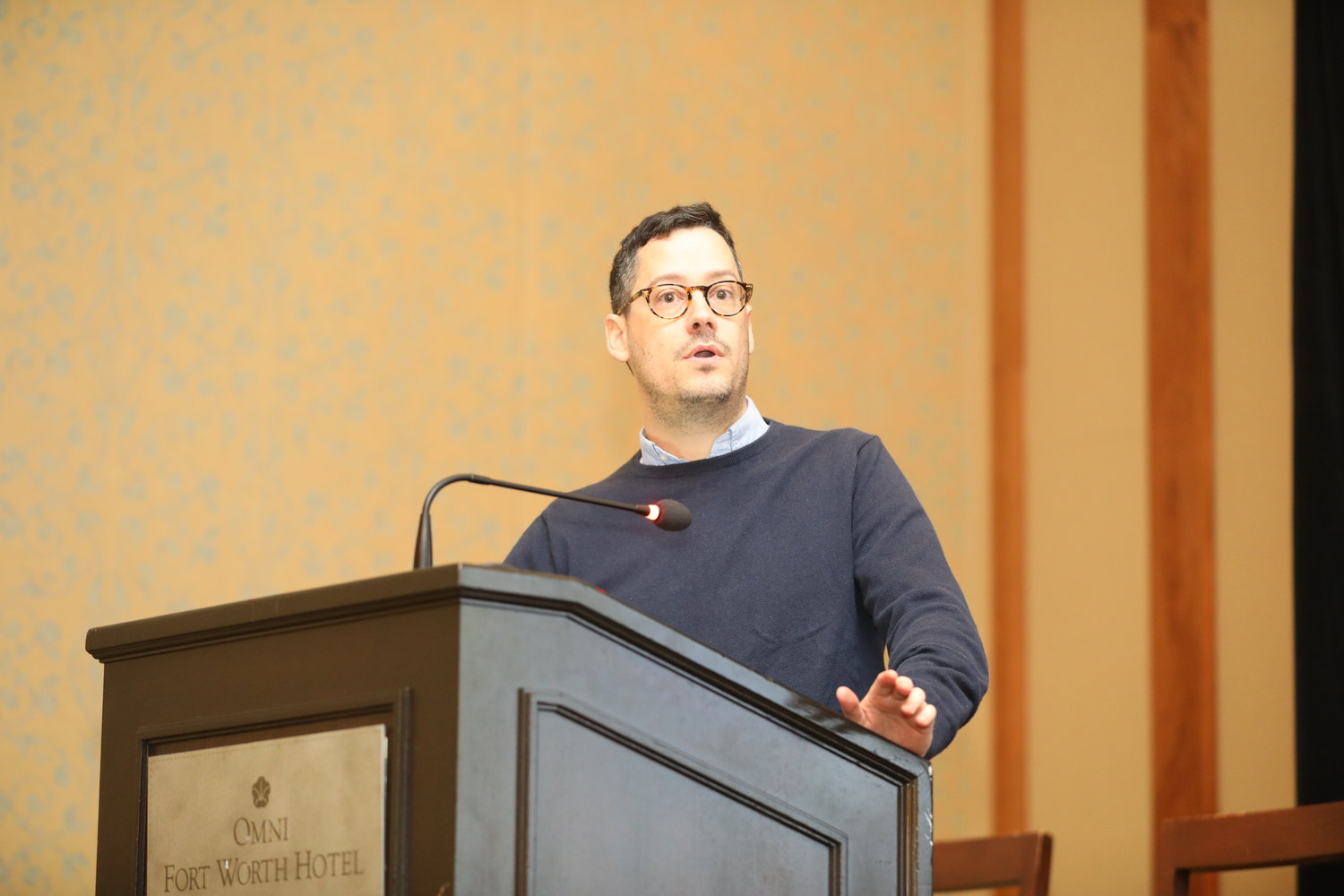2020 Mega-Conference at the Omni Hotel in Fort Worth, Texas, Feb. 18, 2020. (Photo by Bob Booth)
