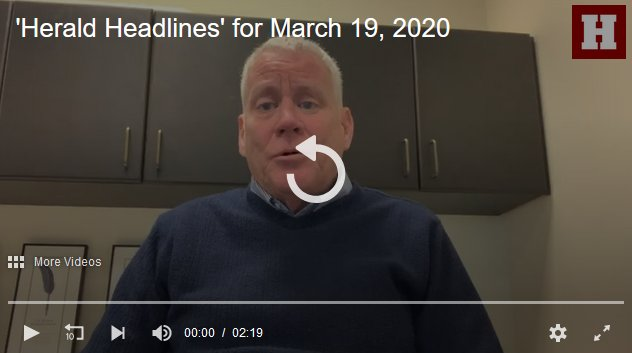 View video message from the executive editor of the Everett Daily Herald in Washington.