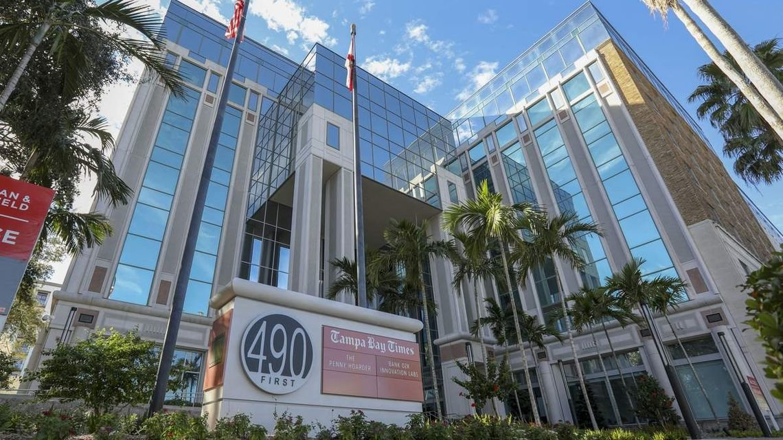 The Times Publishing Co. will outsource printing of its newspapers, including the Tampa Bay Times, to Gannett's Lakeland facility. The change, which will occur in March, won't impact other parts of the operation. (Photo: Chris Urso / The Tampa Bay Times)