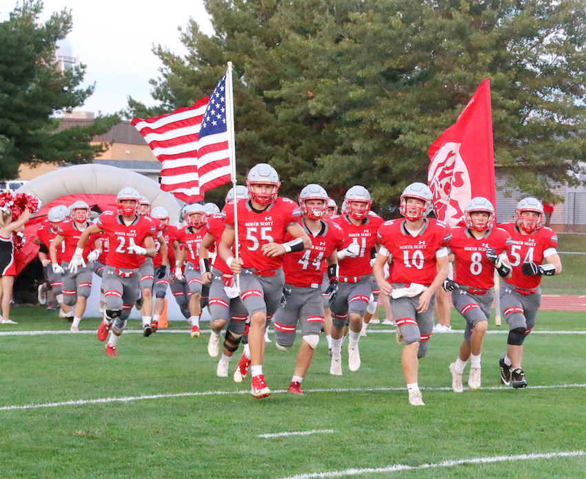 It's official: the next time the North Scott football team takes the field, it will be as a 3A squad. District assignments are expected to be named later this winter.