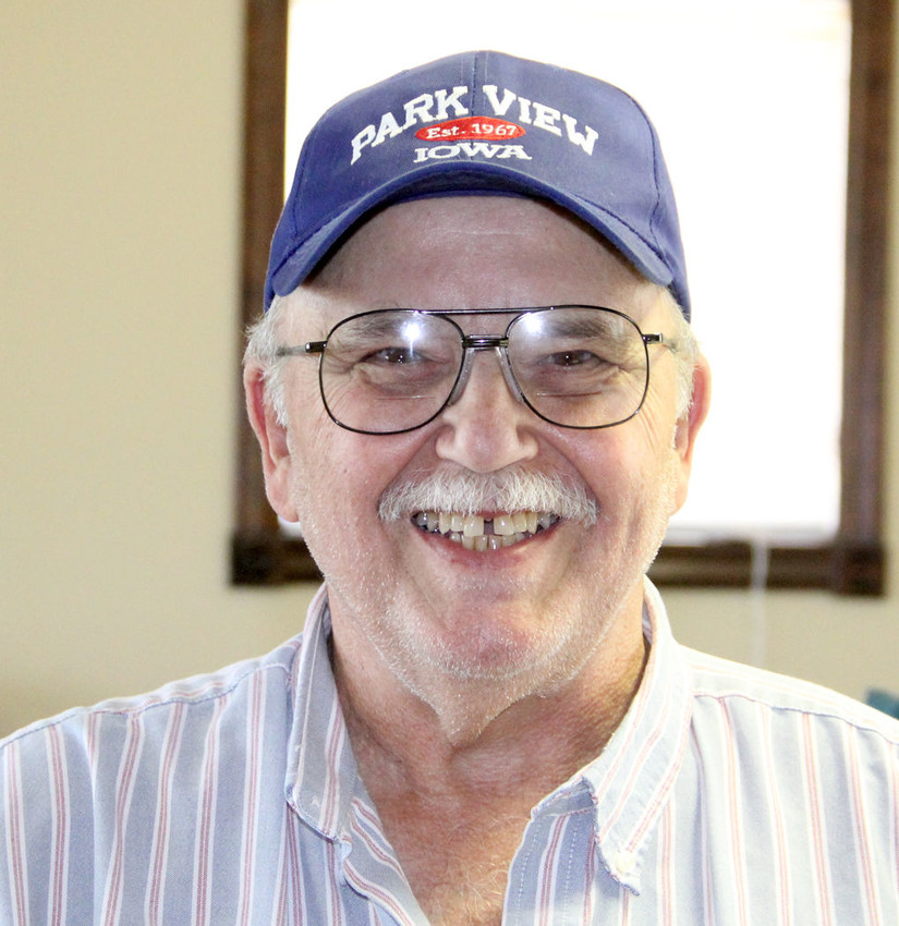 Park View Owners Association President Mike Wright