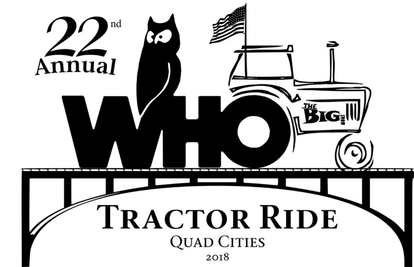 22nd Annual WHO Radio Tractor Ride