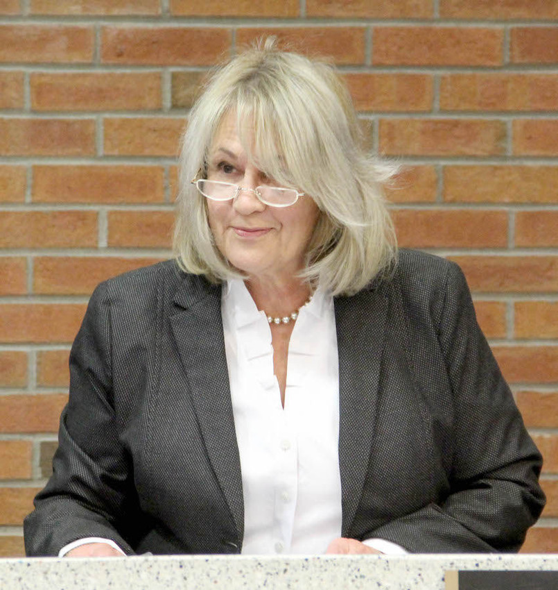 JANUARY: Carol Earnhardt was elected chairman of the Scott County Board of Supervisors.