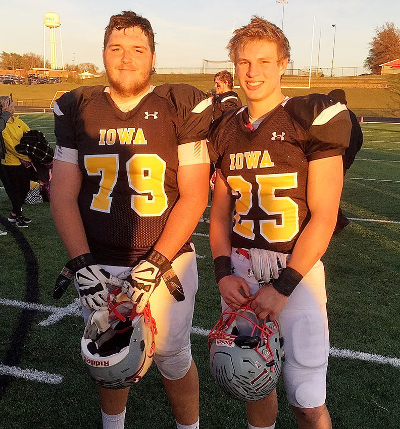 Cole Ernst and Jared Rus