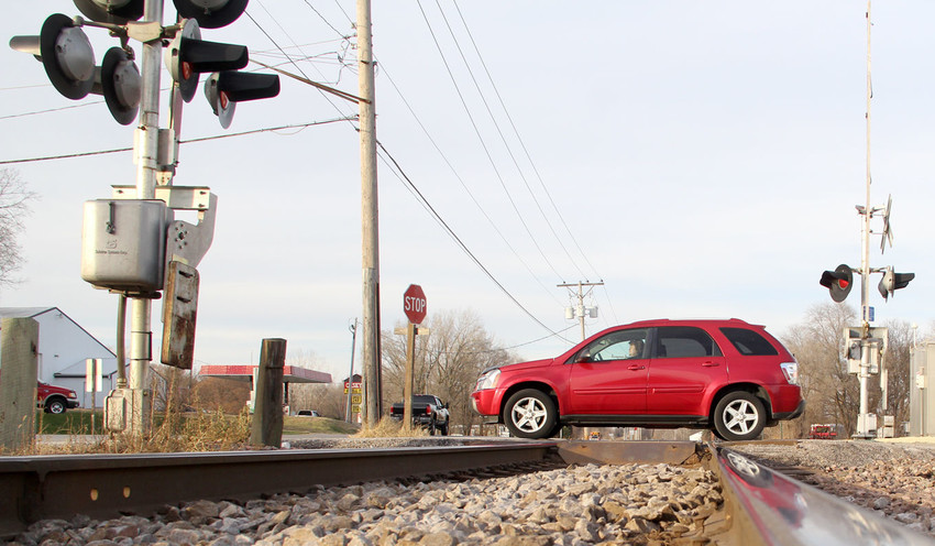 The Lost Grove Road rail crossing is one of three in Princeton that Police Chief Brian Carsten will seek to exempt from warning whistles at night.