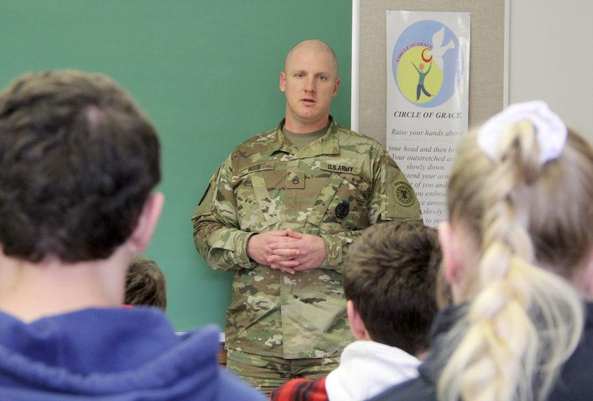 Jonathan Hood describes his Army career.