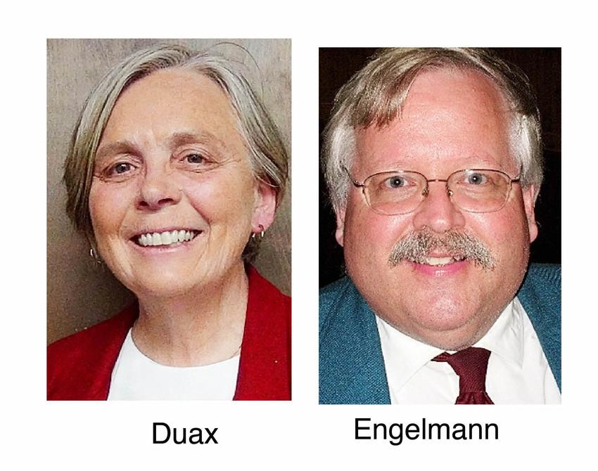 Jane Duax and Tom Engelmann