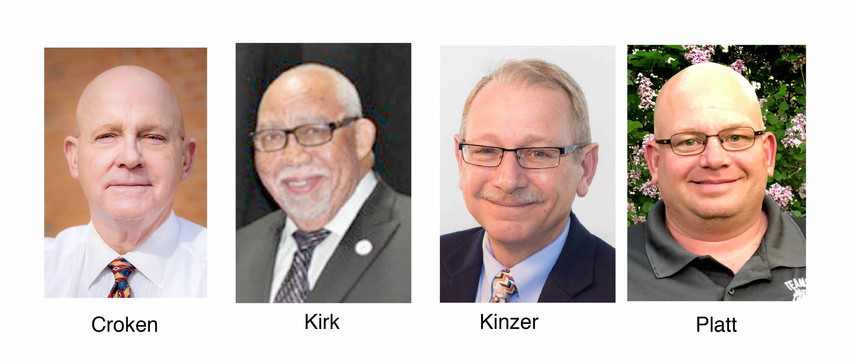 Ken Croken, Rogers Kirk, Brinson Kinzer, Marvin Platt
