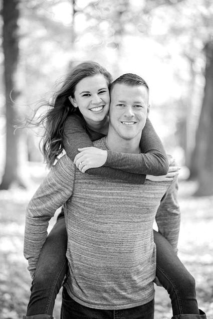 Brooke Hamann and Michael Moeller