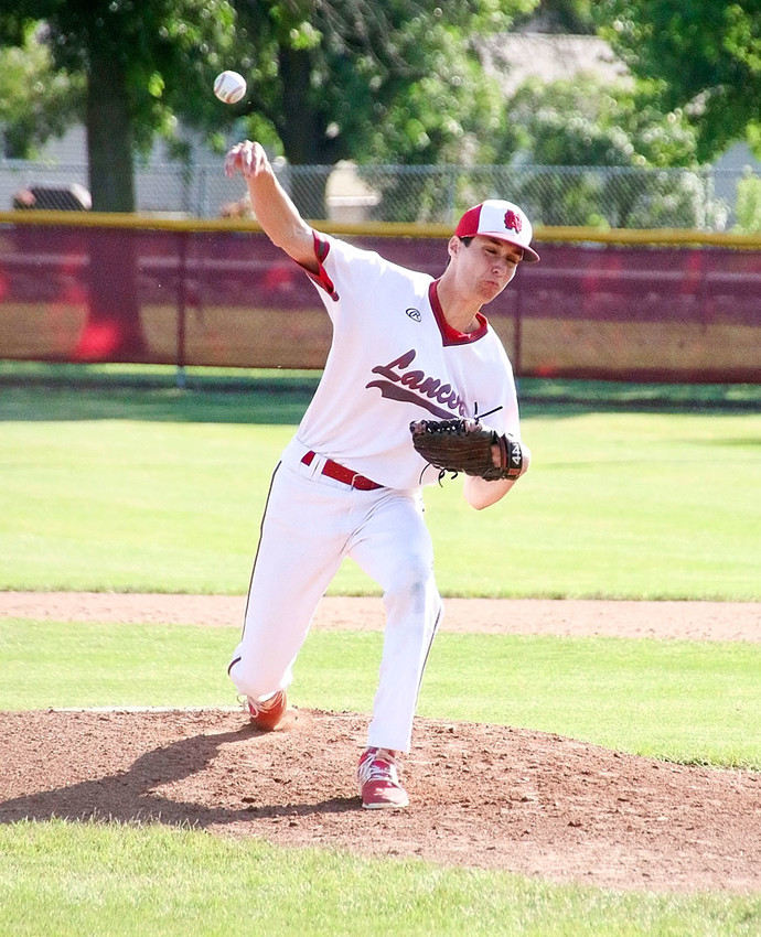 Senior Kyle Denison, North Scott's early-season workhorse, picked up his second win of the year with a seven-inning outing Monday night.