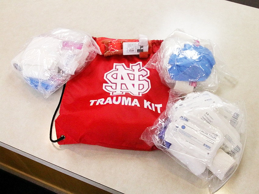 The Long Grove Fire Department is looking for donations to help put trauma kits in every North Scott classroom.