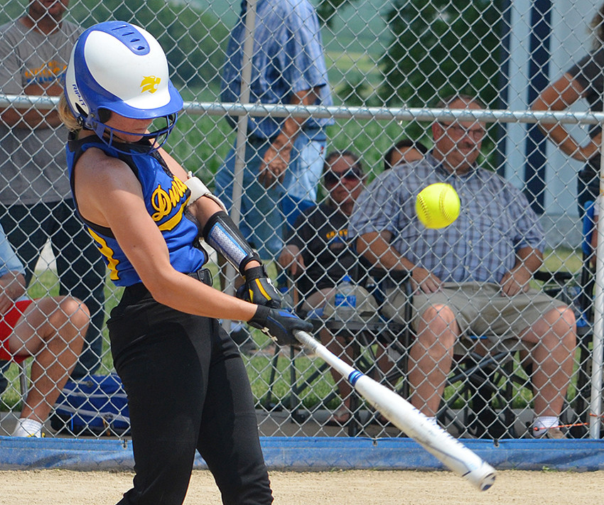 Durant's Ruby Kappeler has 33 hits and 23 RBIs for the Wildcats this season.