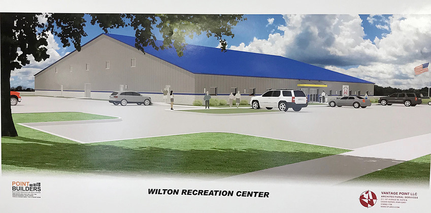 An artist rendition of what a recreational center in Wilton could look like was shown to the Wilton city council June 25.