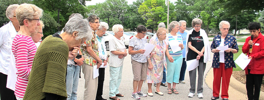 Sisters of Humility, during their annual General Assembly in Davenport, adopted a statement which calls for comprehensive immigration reform and justice for children separated from their families at the U.S. southern border.