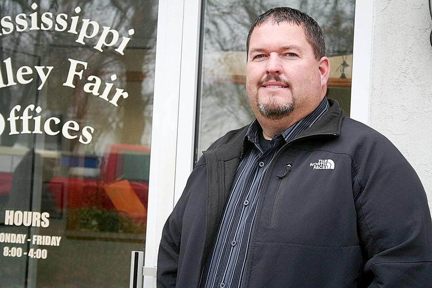 Shawn Loter looks for to his second fair as fairgrounds director. See a rundown of Mississippi Valley Fair activities on page 1 of this week's Eastern Iowa Bizzzy Bee in your North Scott Press.