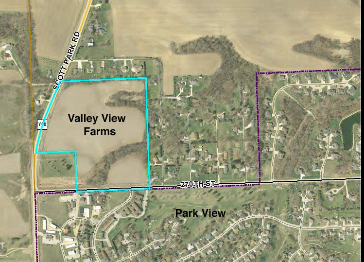Scott County Supervisors approved a final Valley View Farms plat for 31 lots on 29 acres, but said the county will not maintain streets in the new, rural subdivision.