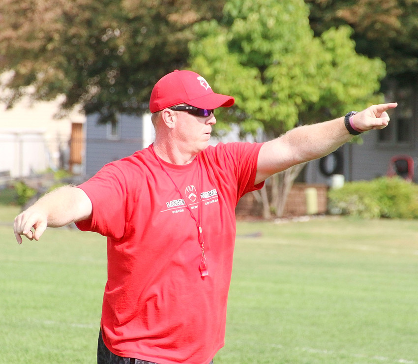 North Scott coach Kevin Tippet is beginning his 12th year at the helm.