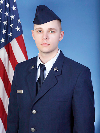 U.S. Air Force Airman Zachary Channon graduated from basic military training at Joint Base San Antonio-Lackland in San Antonio, Texas. He completed an intensive, 8-week program that included training in military discipline and studies, Air Force core values, physical fitness and basic warfare principles and skills. Airmen who complete basic training also earn four credits toward an associate in applied science degree through the Community College of the Air Force. Channon is a 2017 graduate of Wilton High School.