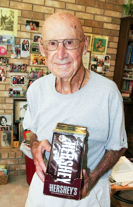 Bob Williams and Hersheys: A match made in heaven.