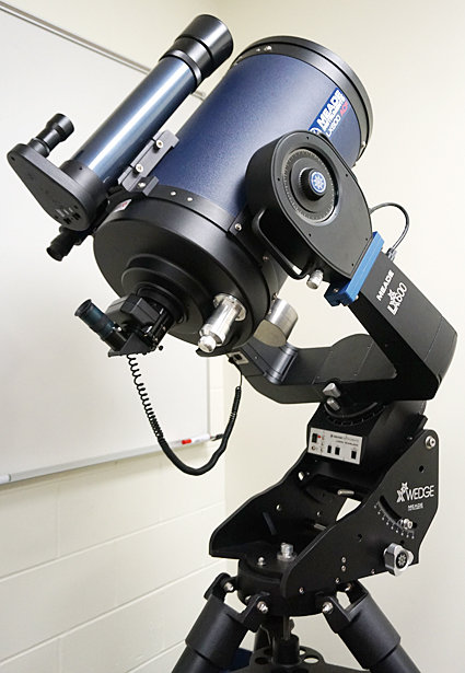 A 12-inch Meade LX600ACF will be one of the telescopes inside Wilton's future observatory.