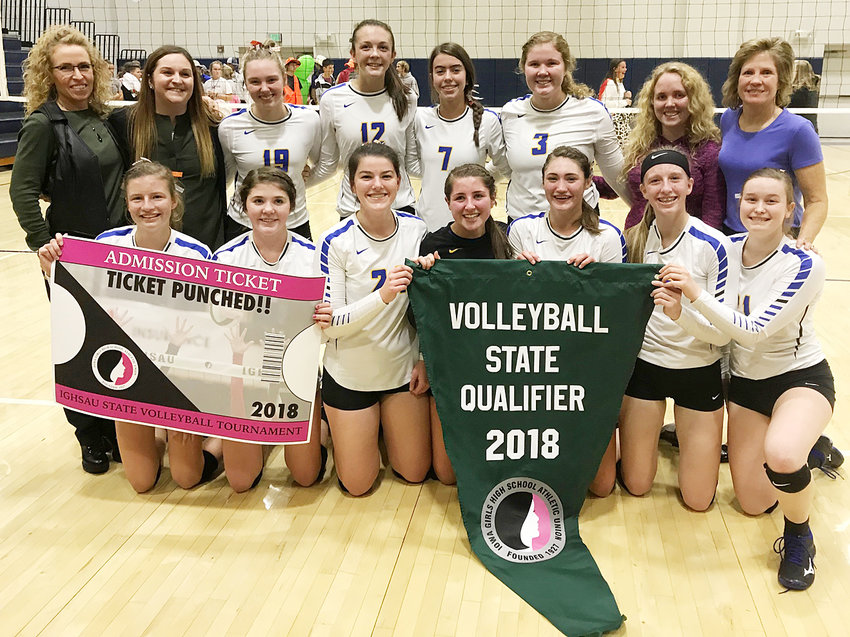The Wilton volleyball team qualified for the state tournament for the first time since 2004.